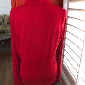 Danskin Now Jackets & Coats - Danskin Now Red Lycra zip up jacket